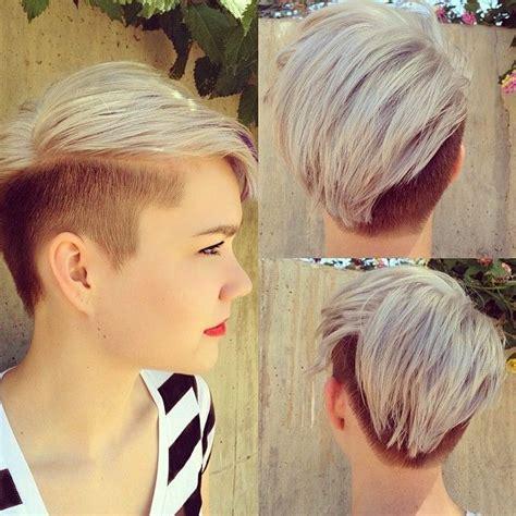 short side part hair styles 360 view faux hawk frisuren asymmetrische frisuren brave pixie