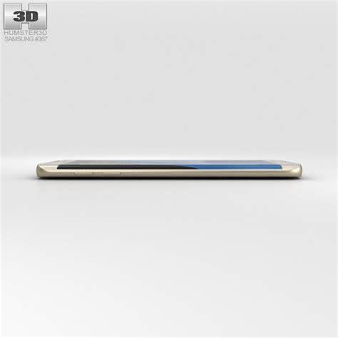 Black Gold F0302 Samsung Galaxy S7 Edge Custom Cover samsung galaxy s7 edge gold 3d model hum3d