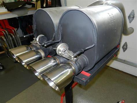f s oem npp dual mode exhaust from zr1 corvetteforum