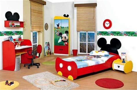 Mickey Mouse Bedroom Furniture | 15 mickey mouse inspired bedrooms for kids rilane