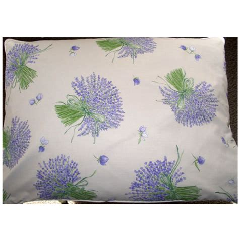 Lavender Pillows by Lavender And Buckwheat Filled Standard Size Pillow