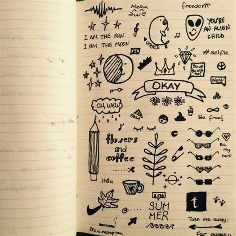 1000 Ideas About Notebook Doodles On Doodles