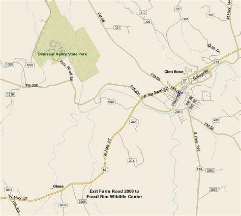 where is glen texas on a map glen texas map