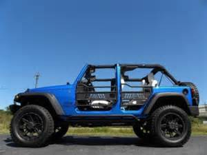 Used Cars For Sale In Brevard County Florida 2015 Jeep Wrangler Unlimited Lifted Blue