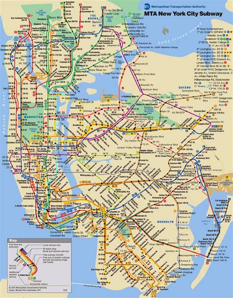 mta maps mta subway map 4