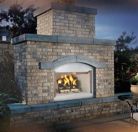 outdoor fireplace hearth vantage hearth laredo wood burning outdoor fireplace with
