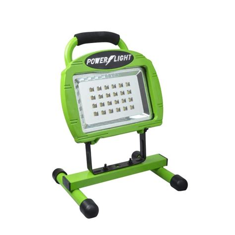 power glow led work light shop designers edge 779 lumen led portable work light at