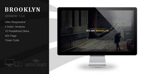 themeforest brooklyn brooklyn creative portfolio page html by unitedthemes