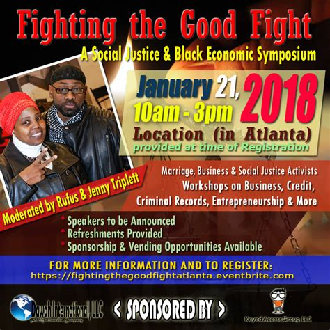 home dawah international llc fighting the good fight atlanta a social justice event