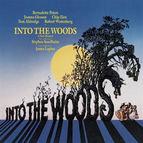 Into The Woods into the woods musical cast recording