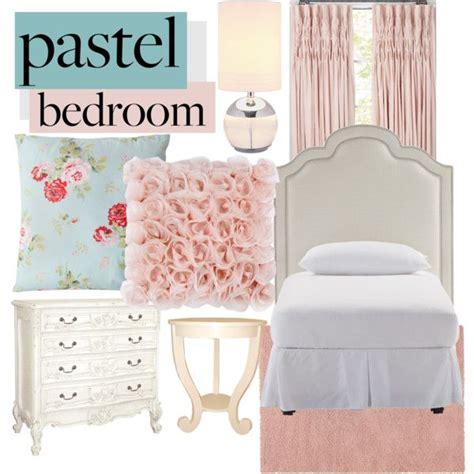 bedroom pastel quot a sweet pastel bedroom quot by awkwardturtle31415 on polyvore