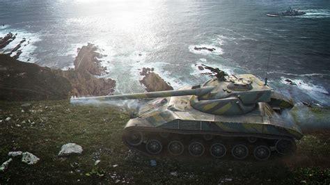 Big Wallpaper 3d World 7 image wot tanks bat chatillon 25 t 3d graphics coast