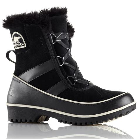 sorel tivoli ii womens black insulated winter boots