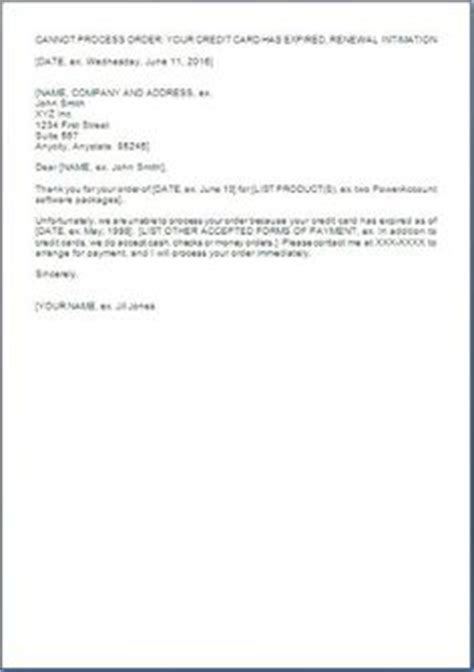Credit Card Renewal Letter Format Formal Email Format Search Business Documents Search