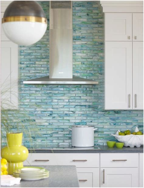Turquoise Backsplash Tile Discoverchrysalis Com Turquoise Backsplash Tile