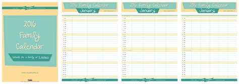 free printable family planner 2016 the new 2016 family calendar by vitadimamma vita di mamma