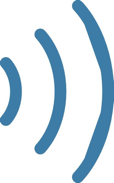 visio wifi stencil wireless antenna changed clip at clker vector