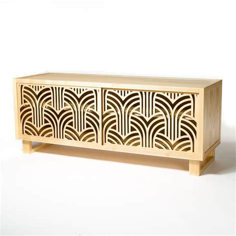 credenza deco beautiful deco credenza cabinet featuring laser cut