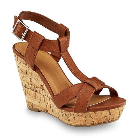 sendal high heels t53 brown delicious s johanna brown wedge sandal