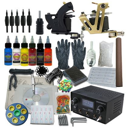 united tattoo supply 2 machine apprentice kit with digital power supply