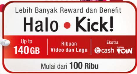 Kartu Halo Kick Gratis Daftar tarif dan cara daftar paket halo kick telkomsel