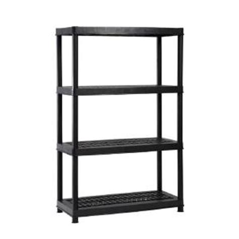 black plastic ventilated storage shelving unit only 19 88