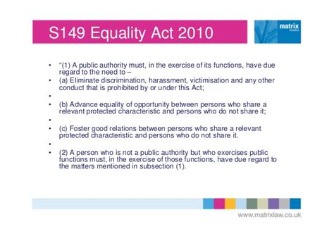 Section 4 Equality Act 2010 Understanding The Public