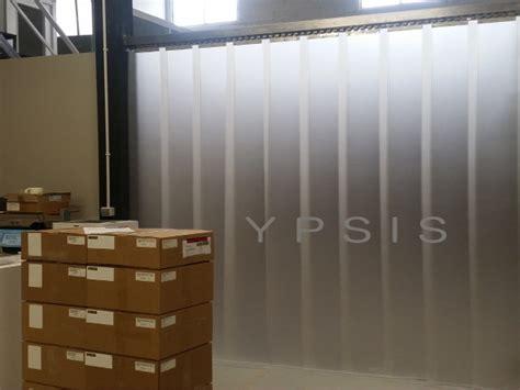 cortinas aislantes acusticas cortina de lamas de pvc transl 218 cida ypsis