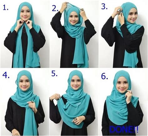 tutorial hijab simple daily beautiful daily hijab pictorial for beginners tutorials