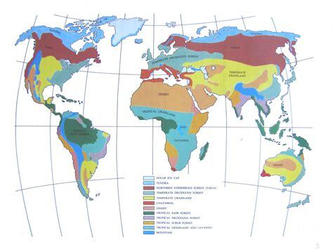 biomes map biomes