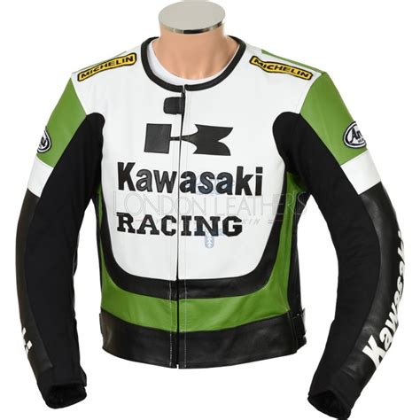 green motorcycle jacket kawasaki ninja green leather motorcycle jacket