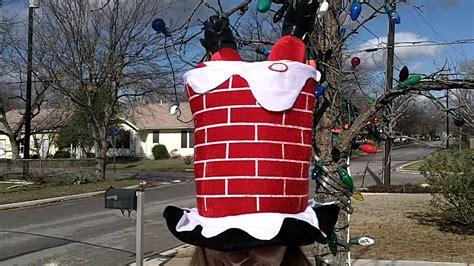 santa   chimney hat youtube
