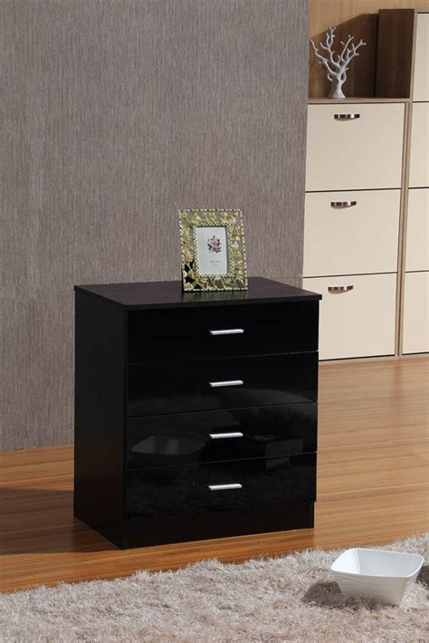 black and mirrored bedroom furniture black mirrored high gloss 3 piece bedroom furniture set