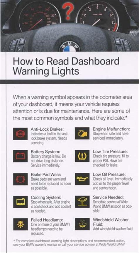 bmw warning lights on dashboard 2007 bmw 328i dashboard warning lights autos post