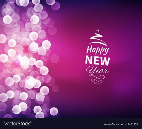 romantic happy  year background royalty  vector image