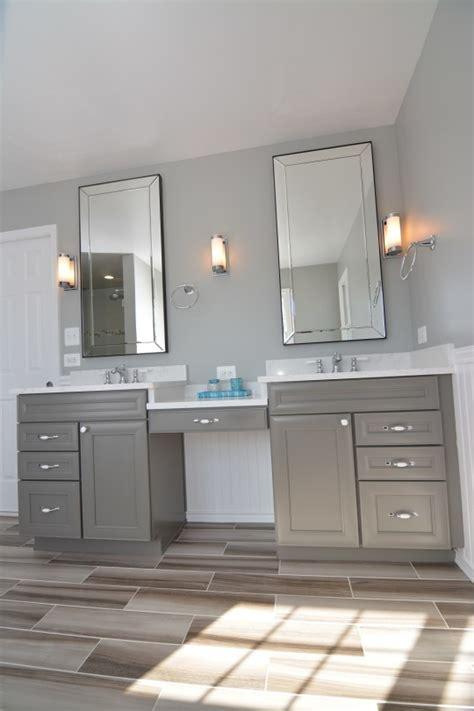 Modern Cottage Bathroom B Chic Interiors 187 Modern Cottage Master Bathroom