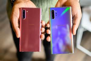 Samsung Galaxy Note 10 Plus Colors by Samsung Galaxy Note 10 Plus Vs Note 10 Vs Note 9 Spec Comparison Digital Trends