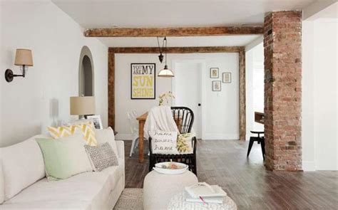 modern cottage makeover family room white decorating ideas brighten up cottage renovation