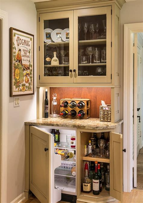 Stand Alone Kitchen Cabinet by 20 Small Home Bar Ideas And Space Savvy Designs