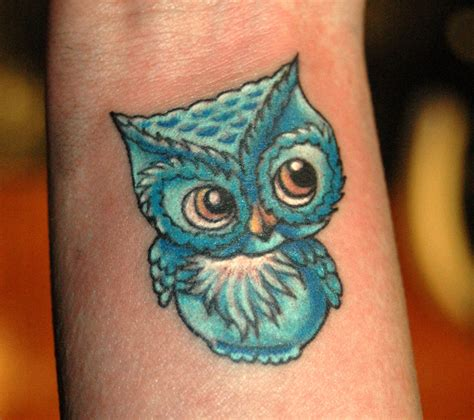 owl tattoos small owl