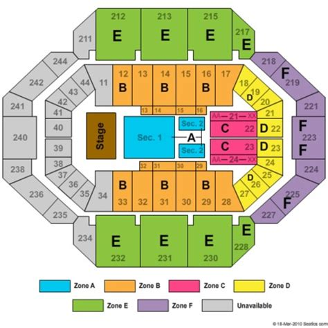 seating chart rupp arena rupp arena tickets rupp arena in ky at gamestub