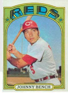 johnny bench rookie card value 1000 images about baseball cincinnati reds on pinterest