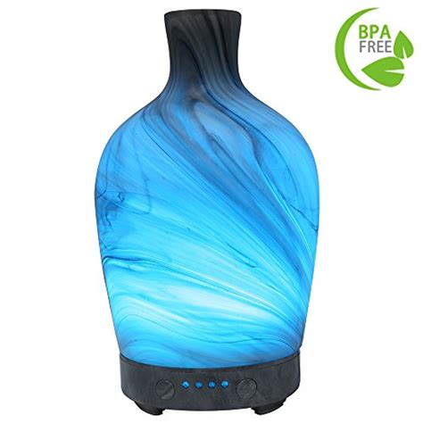 meller essential oil diffuser night light  effect cool