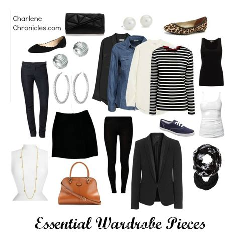 must wardrobe essential pieces charlene chronicles