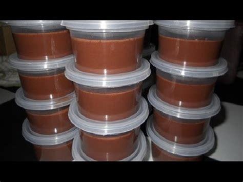 resep membuat puding coklat fla doovi