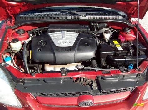 Kia 2004 Engine 2004 Kia Cinco Wagon 1 6 Liter Dohc 16 Valve 4