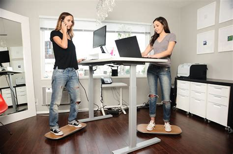 simply fit board standing desk a designer has created a way to keep moving at standing