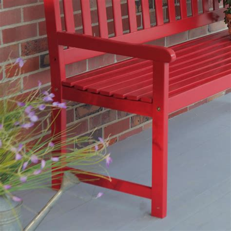 red outdoor bench diy deck box bench design and ideas e2 80 93 benches