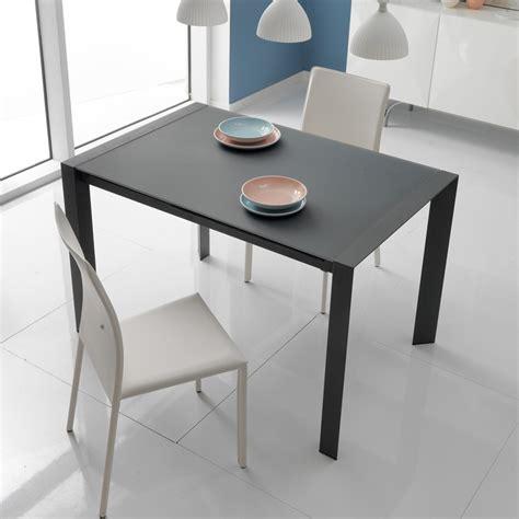 tavoli da pranzo usati tavolo da pranzo allungabile in vetro e metallo oddo