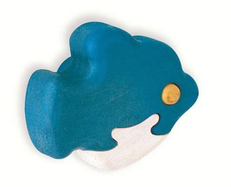 Fish Door Knobs by Ragamuffin Children S Blue Wooden Fish Door Drawer Knob